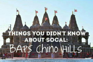 Thing you didn't know about SoCal: BAPS Shri Swaminarayan Mandir & Cultural Center