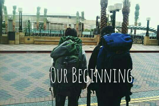 Our beginning.