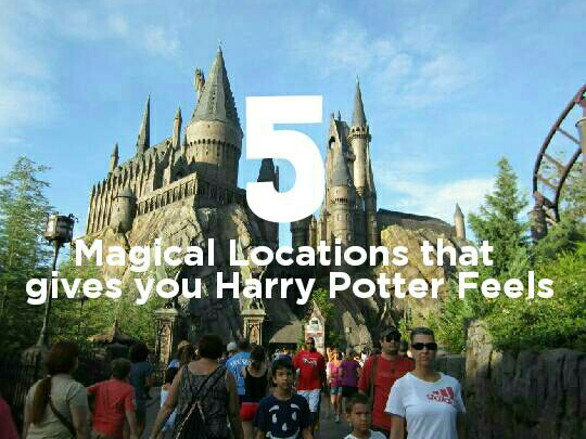 5 Magical Locations that give you Harry Potter Feels