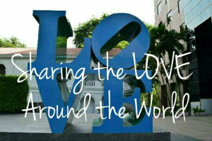 Sharing the LOVE Around the World