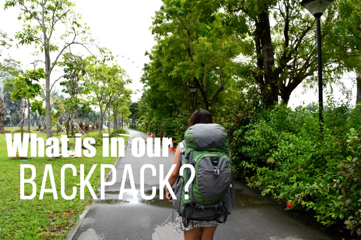 What is in our backpack?