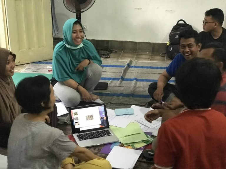 deaf art community indonesia