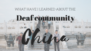 deaf or hard of hearing chinese asian people