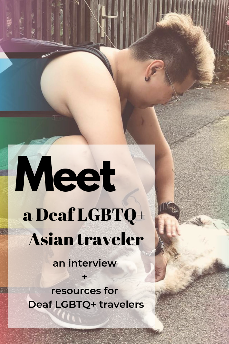 deaf traveler lgbtq